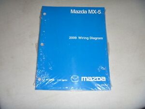 2009 mazda mx 5 miata convertible electrical wiring diagram manual Cadillac Srx Wiring Diagram image is loading 2009 mazda mx 5 miata convertible electrical wiring