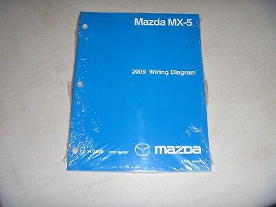 2009 Mazda MX-5 Miata Convertible Coupe Electrical Wiring ...