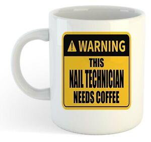 Warning-Esta-Unas-Tecnico-Necesita-Cafe-Blanco-Taza-Regalo-Trabajo-Regalo