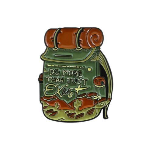 Unisex Creative Backpack Brooches Badges Pins Lapel Shirts Jacket Clothing Decor