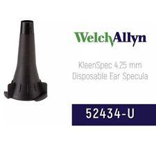 Welch Allyn 425mm Single Use Adult Specula Otoscope 52434 U 850 Speculas