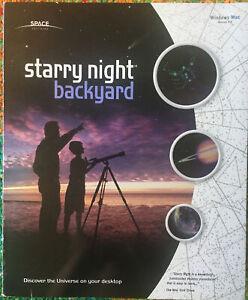 Starry Night: Backyard 4.x 4 COMPLETE PC MAC CD Astronomy ...