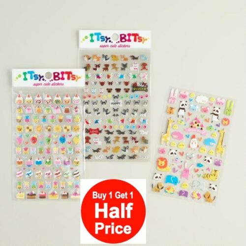 Buy 1 Get 1 50/% Off! Add 2 to Cart Itsy Bitsy Super Cute Tiny Stickers