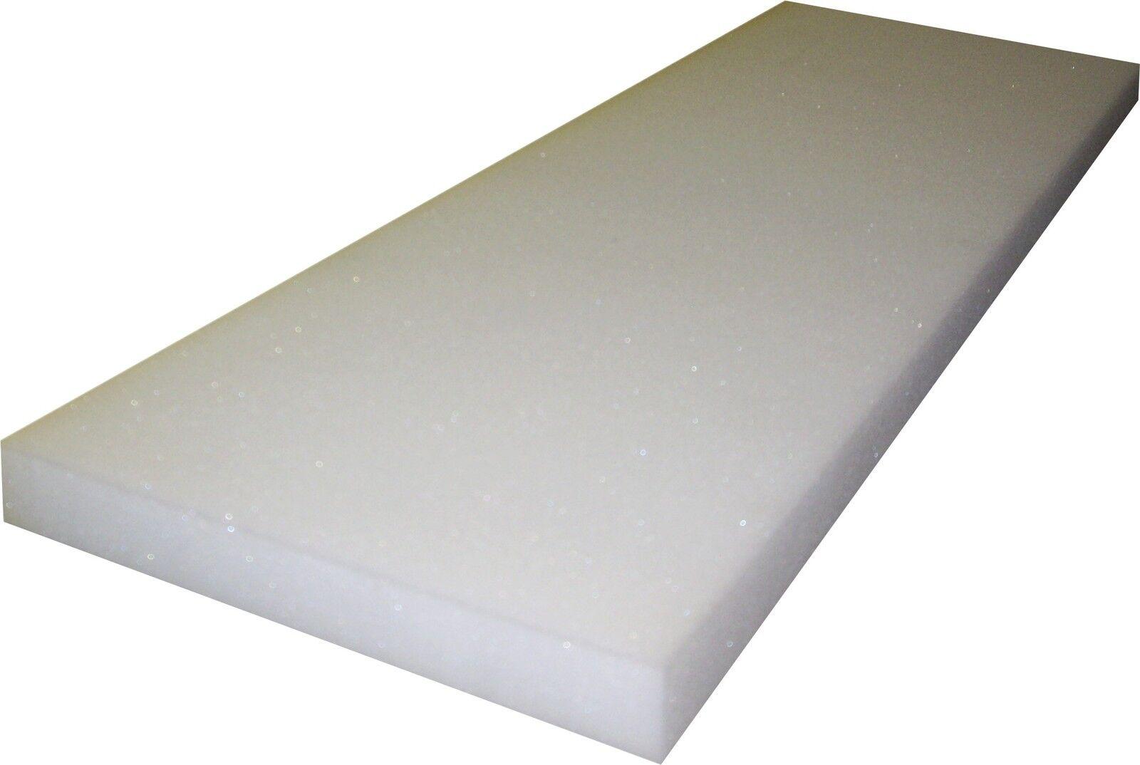 Schaumstoff-Platte 100x200x10 Schaumstoff Matratze RG25