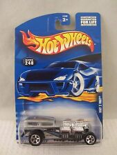 Hot Wheels  2000-248  Way 2 Fast  Silver  NOC  1:64 scale  (517)  29305