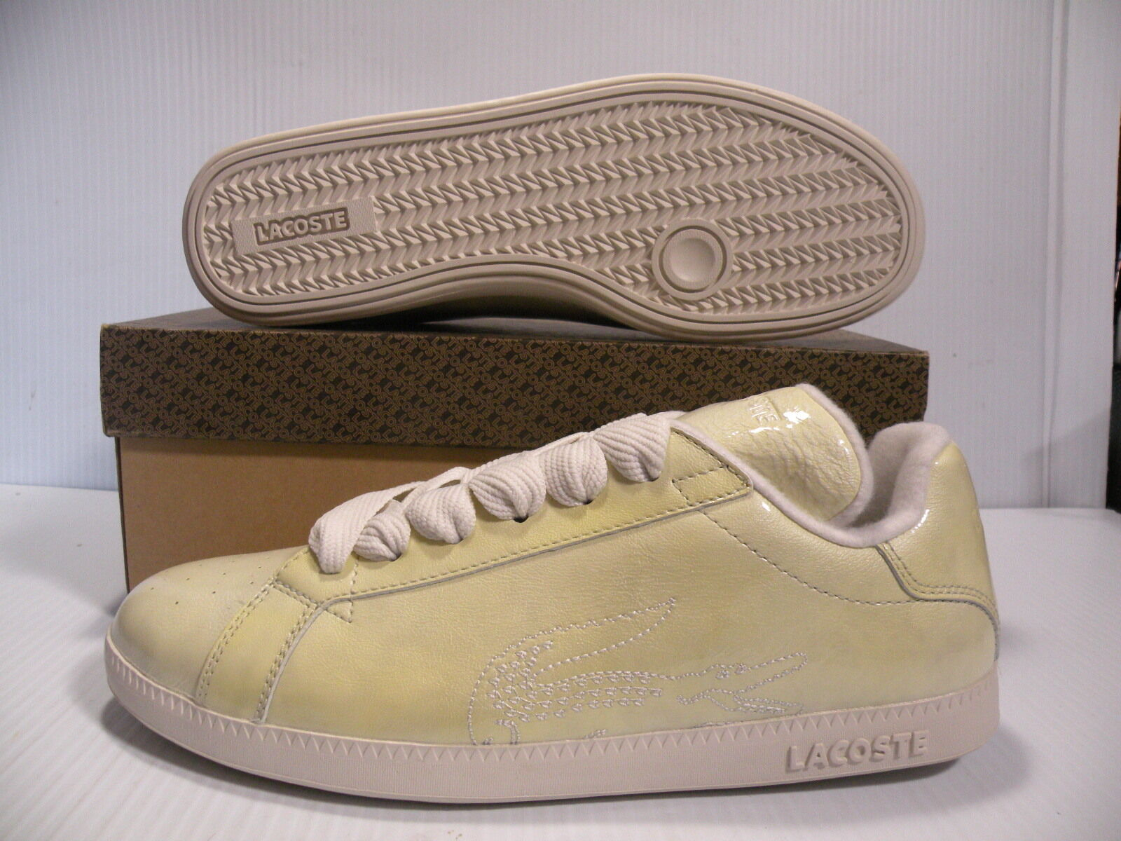 LACOSTE GRADUATE NEW FUNK SPORT femmes chaussures jaune 14STW7981-L42 Taille 8 NEW
