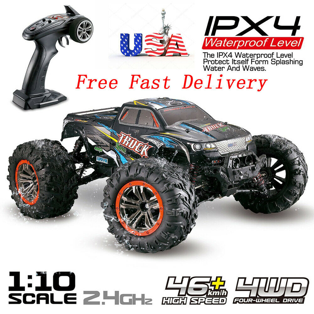 All Terrain RC Monster Truck Car 1:10Scale 4WD 2.4Ghz Offroa