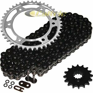 Details About Black O Ring Drive Chain Sprockets Kit Fits Honda Cbr600rr 2003 2004 2005 06
