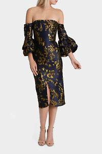 NEW-Nicola-Finetti-Edwina-Dress-Navy
