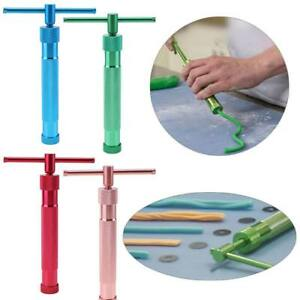 DIY-Pottery-Clay-Extruder-Craft-Cake-Fondant-Sculpture-Craft-Gun-Modeling-Tool