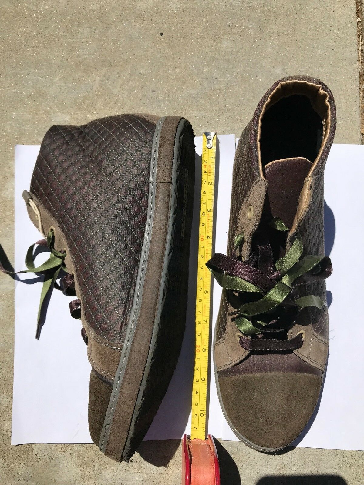 SOISIRESOIEBLWomen's Hightop Sneakers - Size 10 (US) - MADE IN ITALY