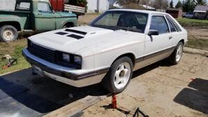 1982 Mercury Capri RS turbocharged 4cyl