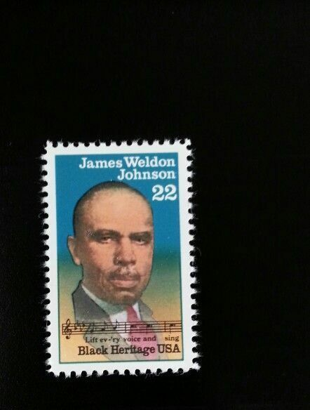 1988 22c James Weldon Johnson, American Author Scott 23
