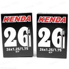 """Kenda 26/"""" x 1.25-1.50// 1.75/"""" 32mm Threaded Presta Valve Bike Inner Tube MTB"""