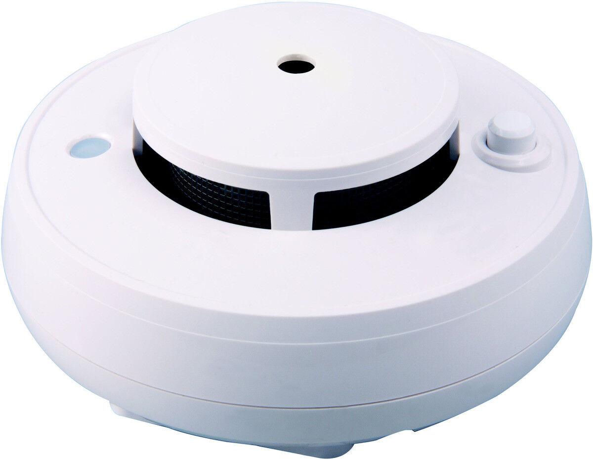 BitronHome Optischer Rauchmelder Weiß ZigBee 2,4 GHz integrierte Sirene NEU OVP