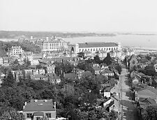 "Annapolis Maryland antique view, 1906, 20""x16"" print, AMERICA OLD TIME PHOTO"