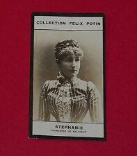 PHOTO IMAGE FELIX POTIN 1er ALBUM 1885 STEPHANIE PRINCESSE DE BELGIQUE BELGIË
