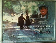 Cinema Poster: LES MISERABLES 1995 (Quad) Jean-Paul Belmondo Claude Lelouch