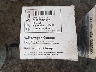 1K0127434B Genuine Volkswagen Group Diesel Fuel Filter