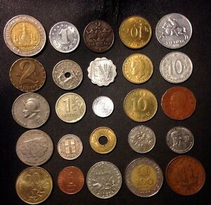Coins-of-the-World-25-Coins-from-25-Nations-High-Quality-Excellent-Variety