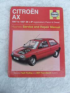 citroen ax petrol haynes service repair manual 1987 to 1997 3014 rh ebay co uk Citroen Hatchback Citroen Xantia
