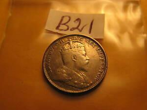 1903-H-Canada-Rare-5-Cent-Five-Cent-Silver-Coin-ID-B21