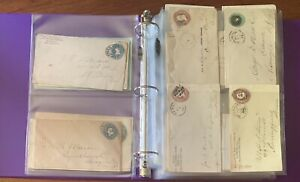 1880's-1930's US POSTAL STATIONERY 105+ Piece COLLECTION LOT HTF RARE #2