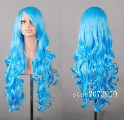 New Fashion Women's Multi-Color Curly Anime Cosplay Party Wig/Wigs