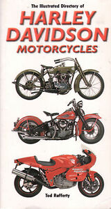 HARLEY-DAVIDSON-MOTORCYCLES-Illustrated-Directory-360-Pages-GOOD-COPY