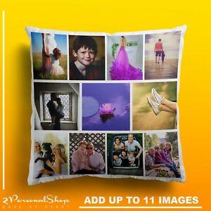 Foto-Personalizzata-Federa-Cuscino-Copertura-Federa-Regalo-Personalizzato-fino-a-11-foto