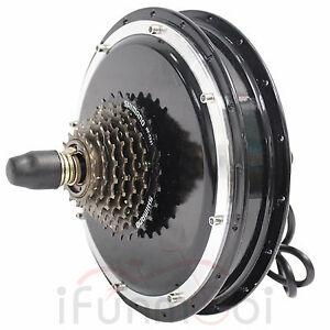 48V-1200W-Threaded-Brushless-Gearless-Hub-Motor-Rear-Wheel-Motor-For-E-Bike