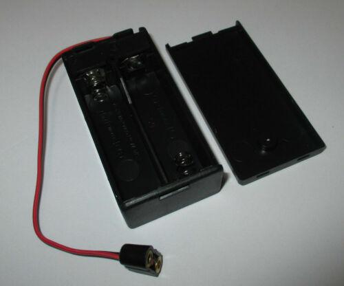Kahlert batteriebox con interruttore per 2 x 1,5 V batterie AA Nuovo//Scatola Originale 60893