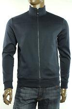 New Hugo Boss Green Label Embossed Logo Skaz Full Zip Sweat Track Jacket M