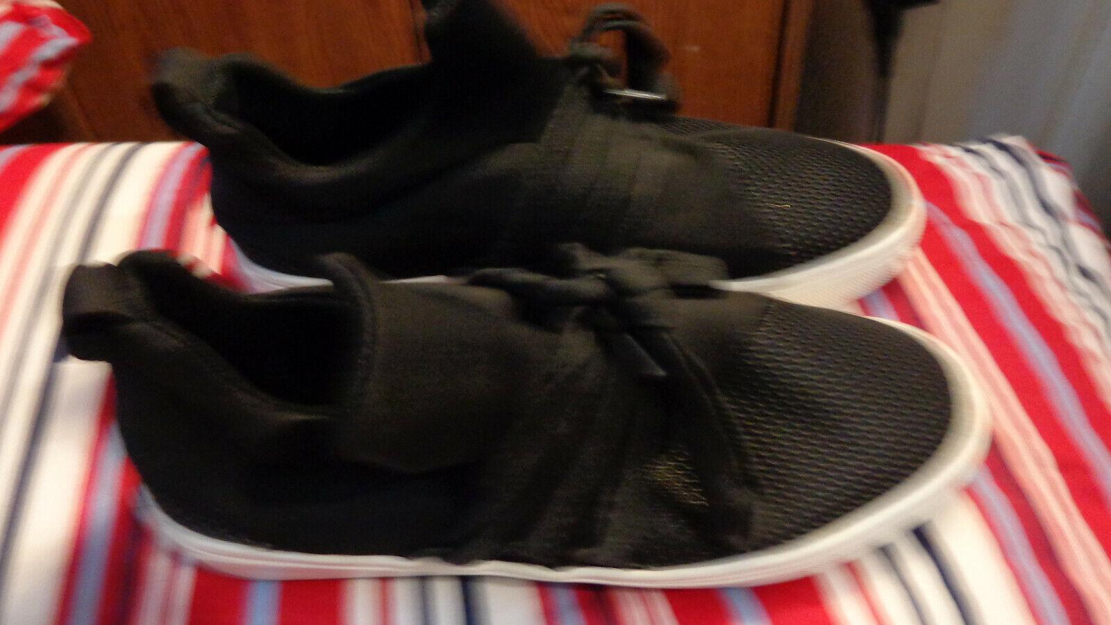 Steve Madden Femme Lancer Noir Décontracté Baskets Chaussures Taille 8.5 M