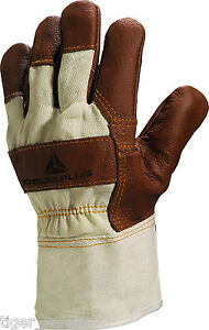 X2-Paires-Delta-plus-venitex-DR605-MARRON-MEUBLES-greeur-CANADIEN-Gants-docker
