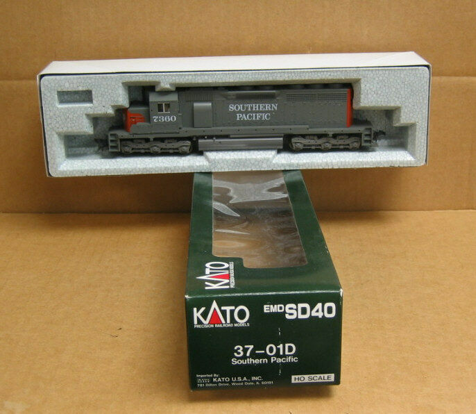 Kato 37-01D HO Southern Southern Southern Pacific SD40  7360 61ce15
