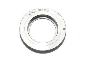 Camera-Adapter-M42-Lens-to-Canon-EOS-EF-EFS-Body-M42-EOS-Brass-M42-EF-EFS-EOS
