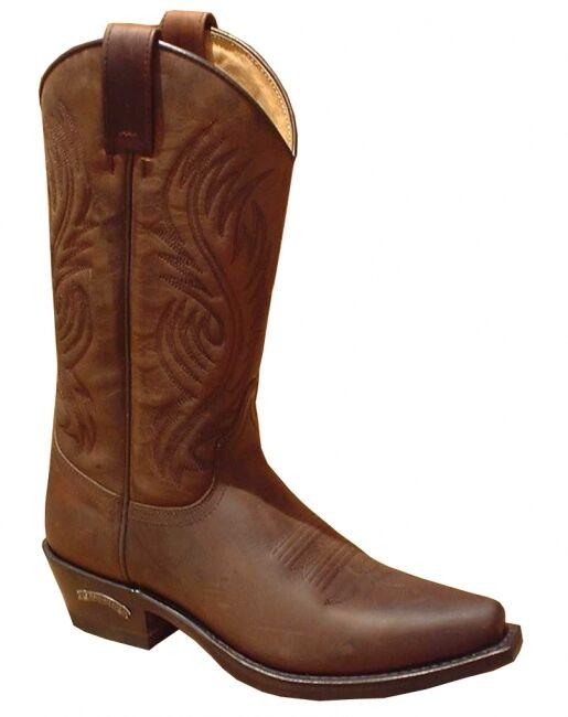 SENDRA WESTERN BOOTS 2605 BROWN * incl. original MOSQUITO ® Stiefelknecht *