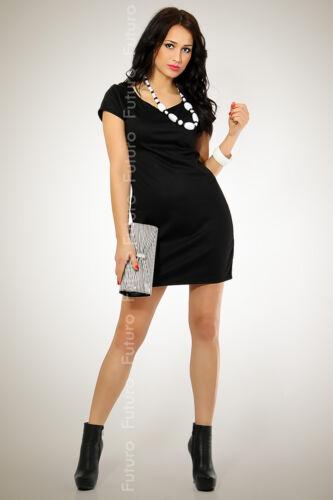 Classic Plain Women/'s Dress with Zipper Tunic Boat Neck Office Size 8-12 8407