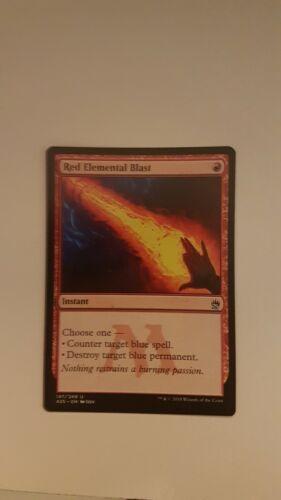 Red Elemental Blast NM A25 MASTERS 25 MTG PACK FRESH