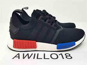 Details about Adidas Nmd R1 OG PK Lush Red Blue S79168 UK 4 5 6 7 8 9 10 11 12 US Primeknit