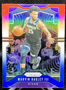 Marvin Bagley III 2019-20 Prizm Red White Blue Sacramento Kings #121