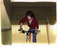 Tatsuya Egawa's Golden Boy Anime Cel Douga Kintaro on Bike OP Opening Rare