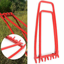 Manual Fence Crimper Chain Fixer Repair Crimping Tool Garden Ranch Wire Repair