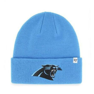 8545dc5a8 Details about 47 Brand NFL Carolina Panther Beanie Hat Cuffed Football  Winter Knit Toque Cap