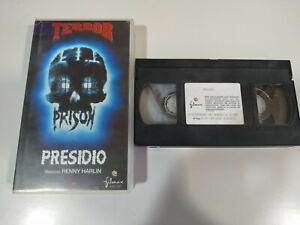Presidio-Renny-Harlin-Terror-VHS-Cinta-Tape-Espanol