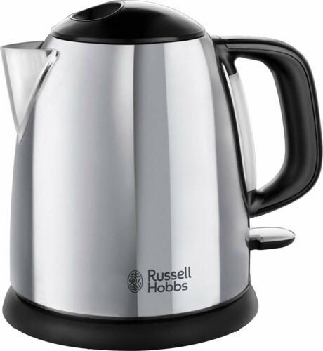 Russell Hobbs petite bouilloire électrique 1 L Rapide Bouillir sans fil compact 2400 W 24990