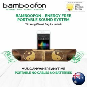 BambooFon-Energy-Free-Portable-Sound-System-Yin-amp-Yang-Travel-Bag-Included