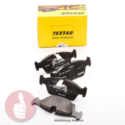 TEXTAR Bremsbeläge Vorderachse 2514701 für Renault