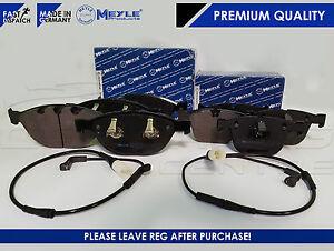 Pour-bmw-535D-535-E60-E61-avant-arriere-meyle-plaquettes-de-frein-usure-capteur-msport-m-sport
